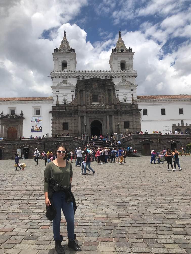 Tina at Plaza San Francisco