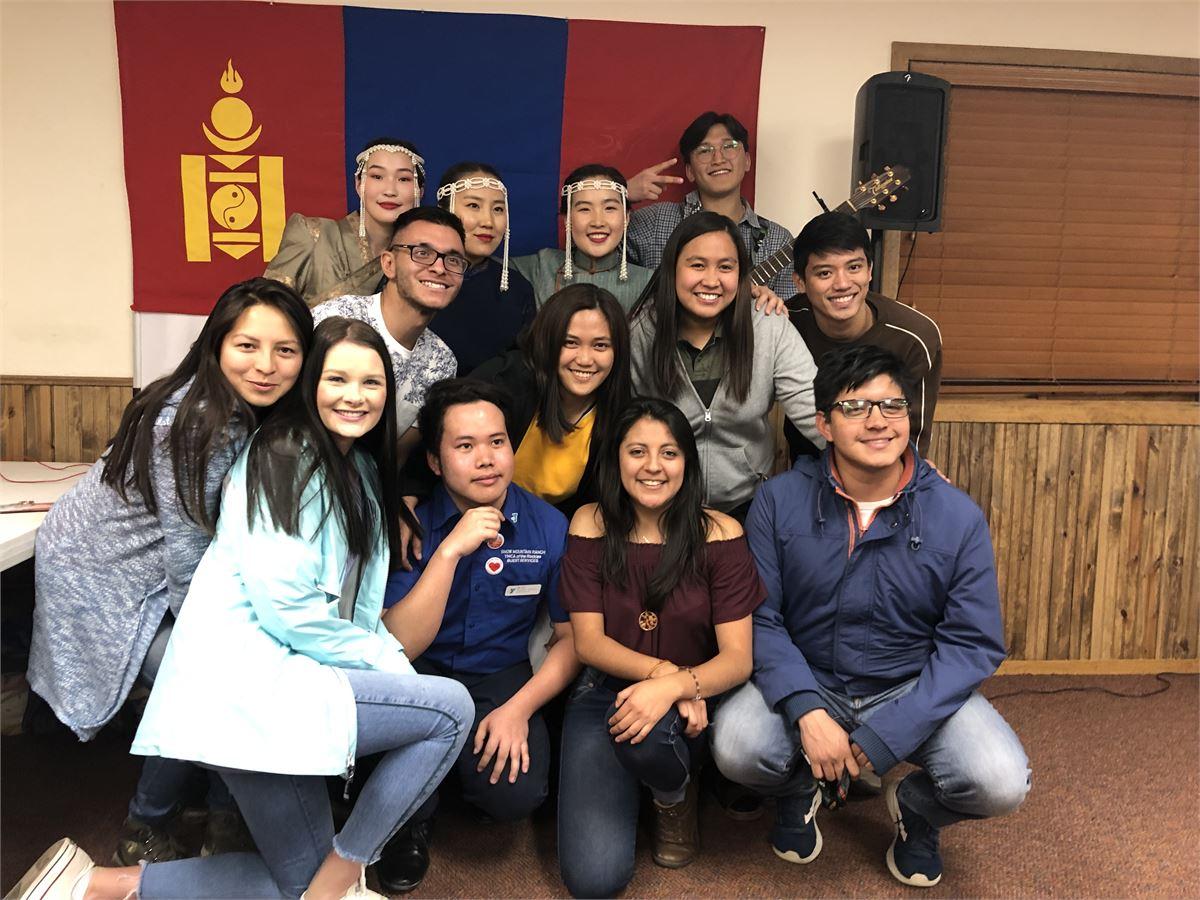 Spirit Participants at a YMCA International Dinner