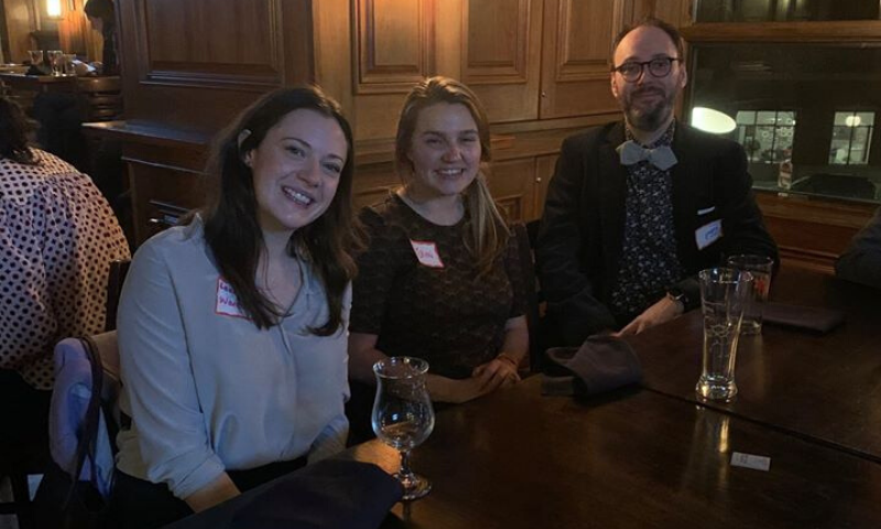 Spirit Staff at the Illinois Environmental Council Holiday Fundraiser
